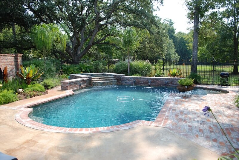 Roman Swimming Pool Designs roman swimming pool designs 1000 images about pools on pinterest pool designs swimming best decor Classic Roman End Pool With Raised Spa And