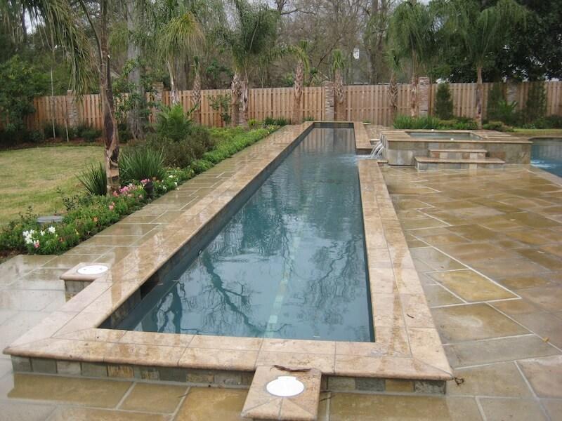Custom Backyards With Lap Pool Amazing Classic Pools Lafayette La  Classic Pools Broussard  Photos