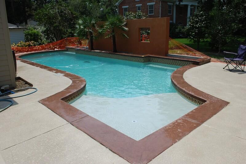 inground pool photos lafayette