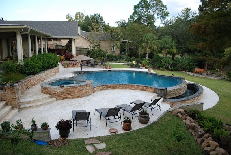 Multi Level Backyard With Pool : Plaster Levels Related Keywords & Suggestions  Plaster Levels Long